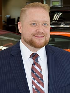 Joshua Gurney at Acura of Overland Park Sales Department
