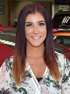 Kellie Caswell at Acura of Overland Park Sales Department