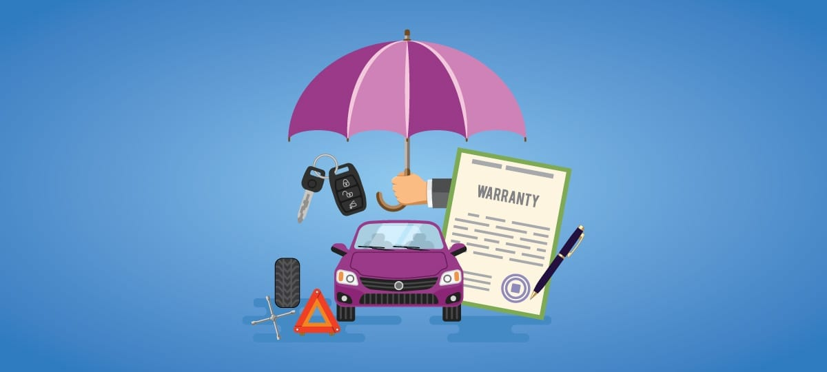Vehicle Warranty Illustration