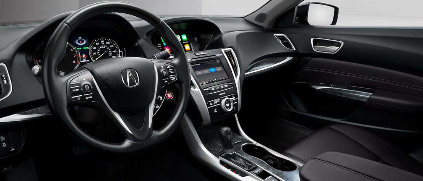 Interior of Acura Vehicle