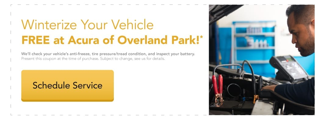 Winterize Your Vehicle Free at Acura of Overland Park