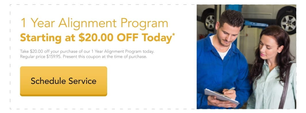 $20 Off of our 1 Year Alignment Program today.