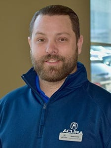 Shawn Archer at Acura of Overland Park Service Department