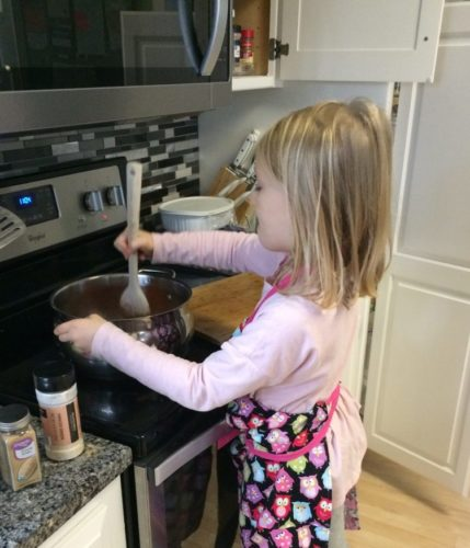 Healthy Cooking Project With The Kids