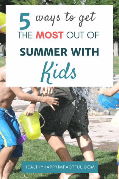summer with kids