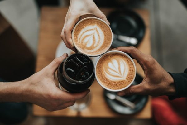 make friends as an adult at a coffeeshop