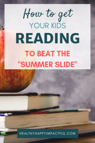 """Get your kids reading this summer to beat the """"summer slide."""" Ideas and activities to give children more motivation to read books. Awesome and fun ways to learn this summer! #learning"""