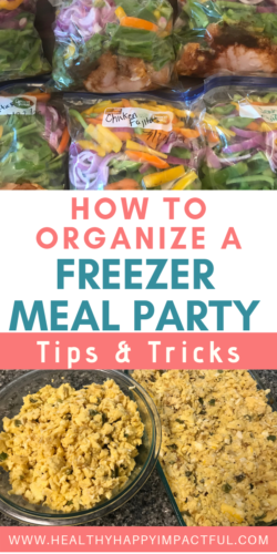 freezer meal party pin