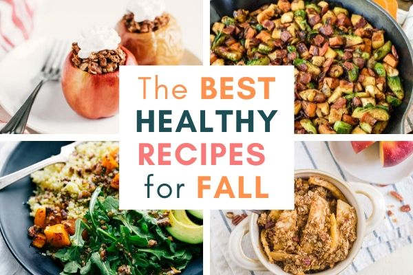 The best healthy recipes for fall