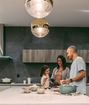 quality time with your child in the kitchen