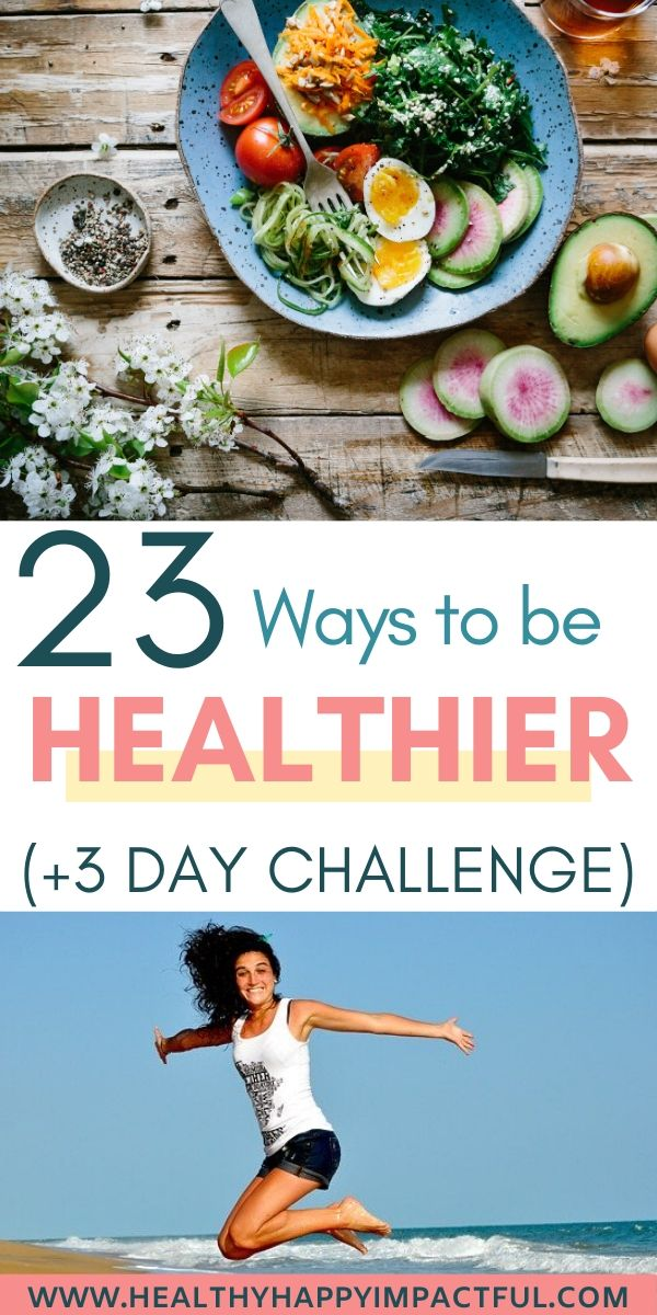ways to be healthy