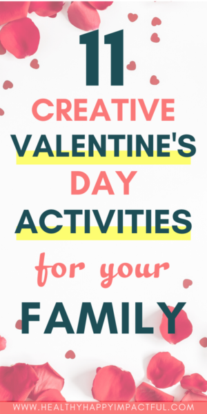Valentine's Day activities pin