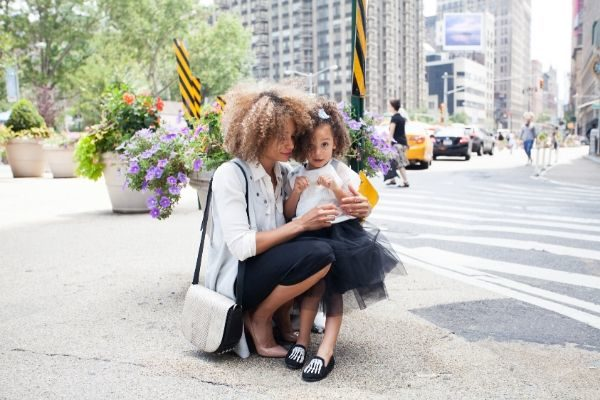 how to be a happy mom, mother and daughter