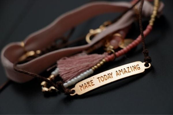 how to motivate yourself and make today amazing bracelet