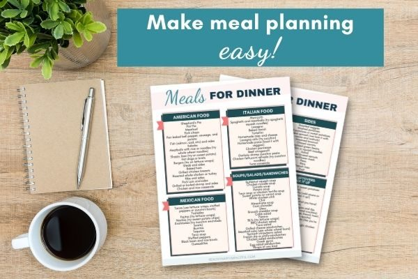 meals for dinner ideas