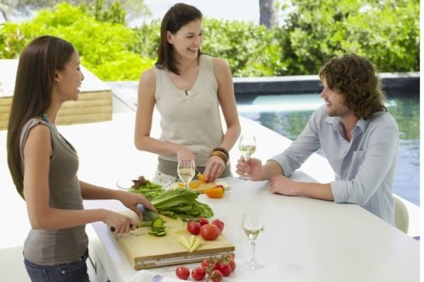 staycation ideas with your family, cooking