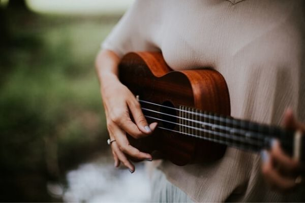 self care at home with an instrument