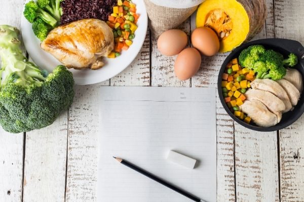 weekly meal planner examples