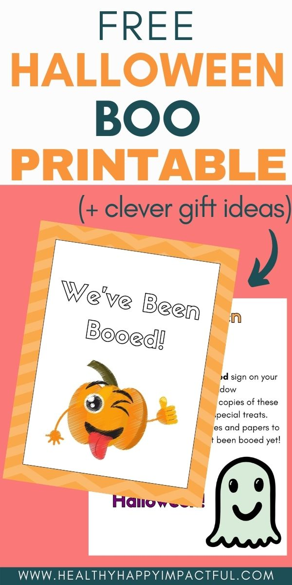 youve been booed free printable for neighbors pin