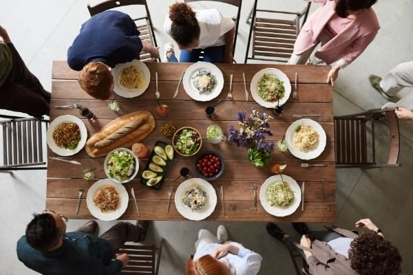 30 days of gratitude in 2020: time to savor a meal