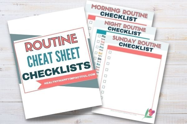 2021 routine cheat sheets