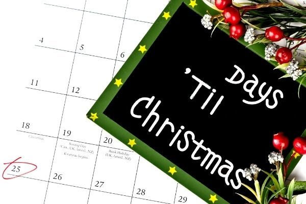 Other super fun Christmas Day countdown ideas for kids: movie nights, activities, acts of kindness, and bible verses