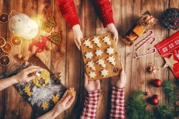 12 Days of Christmas self care: connect with someone you love