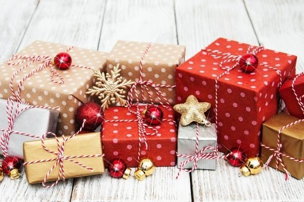 twelve days of Christmas gifts