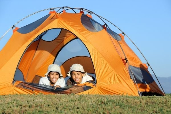 useful gifts for kids: camping stuff