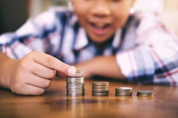 useful non-toy gifts for kids: money items