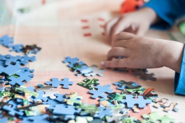learning gifts for kids that are not toys: puzzles