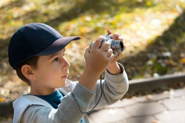the best non-toy gifts for kids: a digital camera