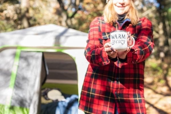 go camping for your fall bucket list 2020