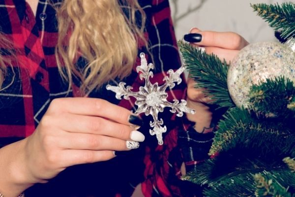 get a winter pedicure on your adult things to do at Christmas