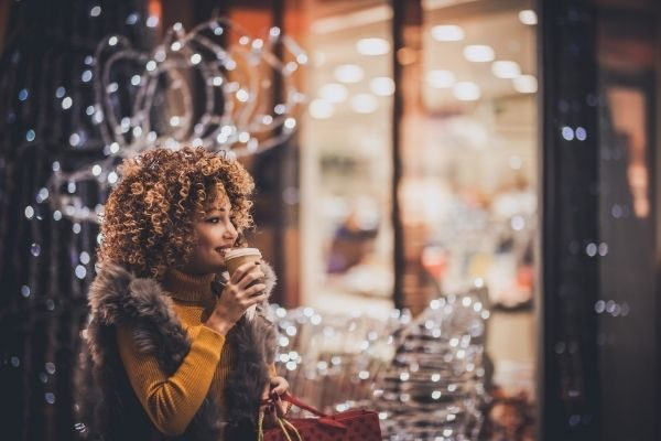 Holiday activities for adults, get a hot drink