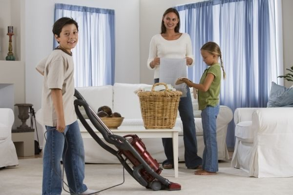 divided chores for family goals examples