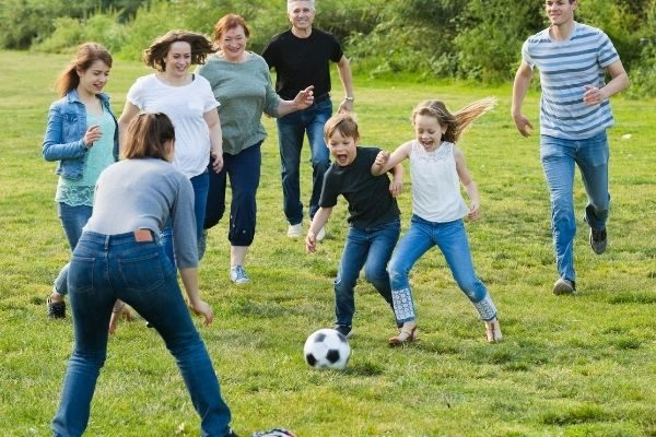 future family goals examples: exercise together