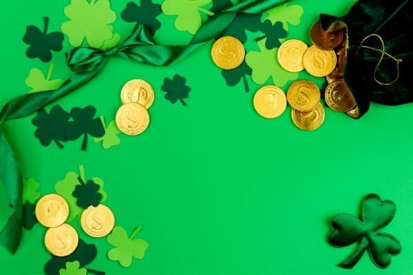 instructions for your St. Patrick's Day scavenger hunt