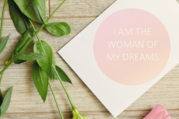 Make a vision board for the 30 day self love challenge
