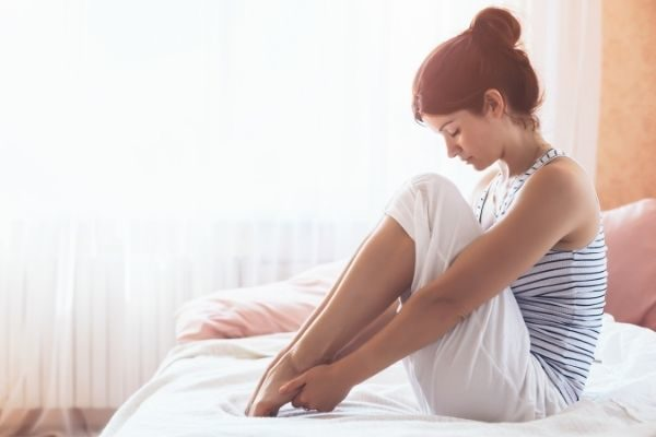 stretch for 10 minutes before bed to love yourself