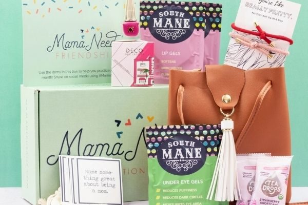 mama needs subscription box: personalized and unique gifts for moms