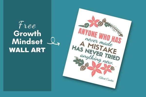 Free inspirational growth mindset quotes pdf