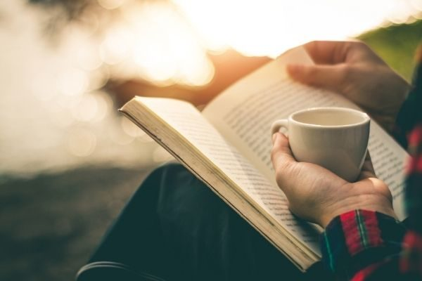 30 day challenge for self-care: read a new book