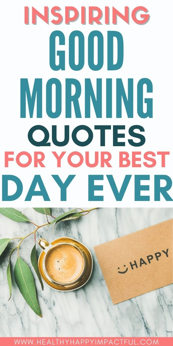beautiful good morning thoughts and quotes