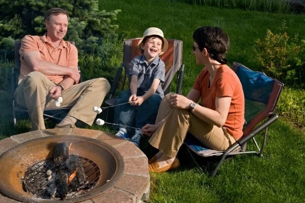 possible monthly family traditions examples - the fire pit