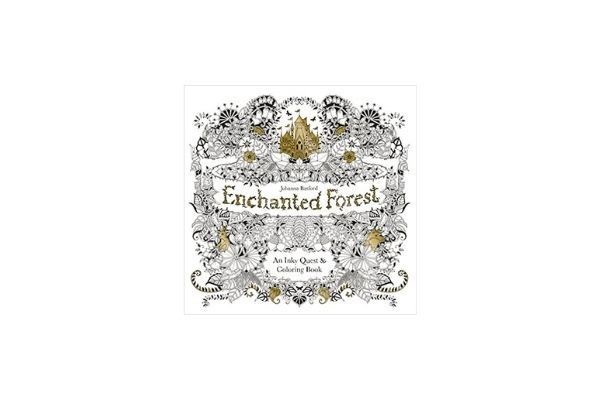 Enchanted Forest: Meditation books, coloring books