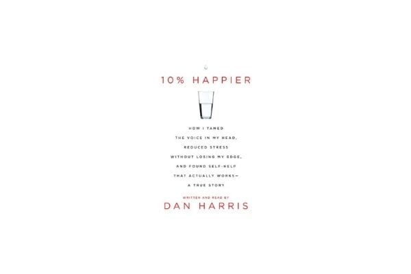 10% Happier: best meditation books for anxiety for beginners