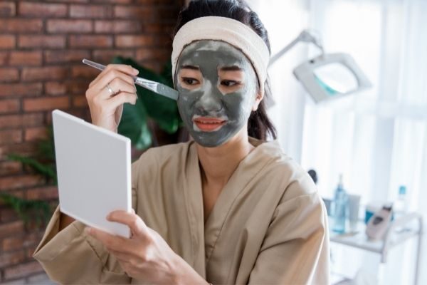 Try a face mask on your self care Sunday checklist