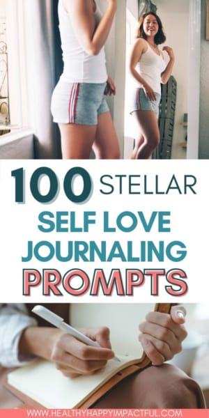 journal prompts for self love, self-discovery, & personal growth pin