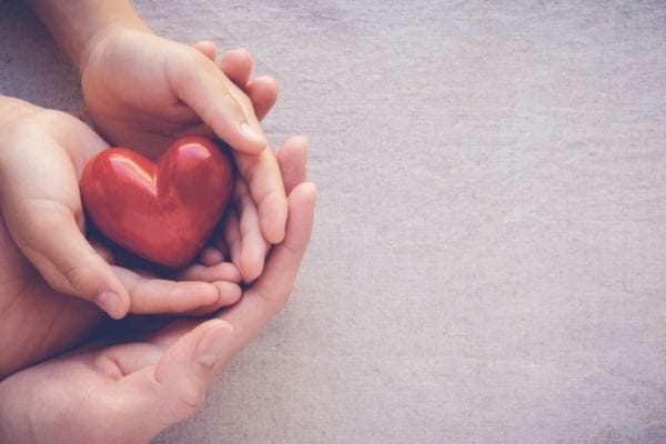 love topics to talk about that are deep and meaningful: heart and hand